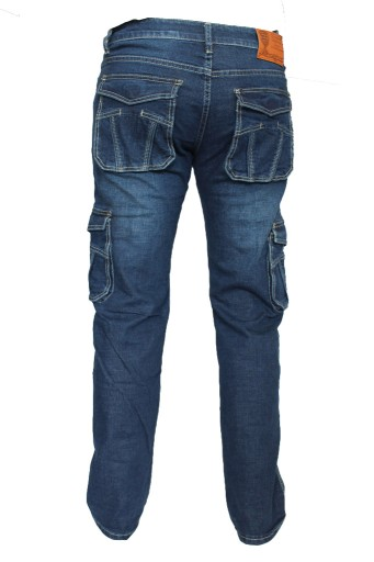 Spodnie jeansy dzinsy męskie bojÓwki przecierane 8549618882 Odzież Męska Spodnie DA IEPYDA-1