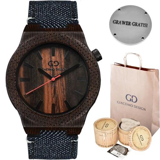 drewniany zegarek kielce