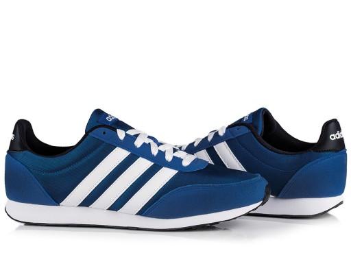 BUTY męskie ADIDAS V RACER (F34450) niebieskie sportowe biegowe