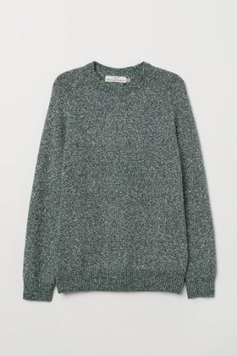 H&M Sweter z domieszka bawełny rozm.L 9725143769 Odzież Męska Swetry DQ SLAYDQ-1