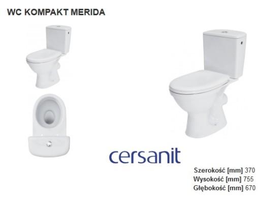 DESKA SEDESOWA MERIDA CERSANIT DUROPLAST TWARDA