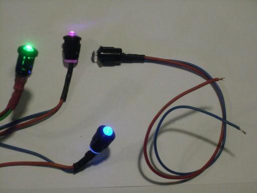 VALDYMAS LED 3-RATAS RGB MIRKSINTIS 5mm/8mm 12v 24v