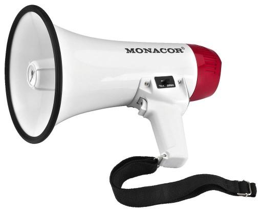 Monacor TM-10 Niemiecki Megafon BHP szkolenia