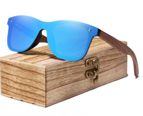 Okulary Przeciwsłoneczne Drewniane Polaryzacja Filtr UV400