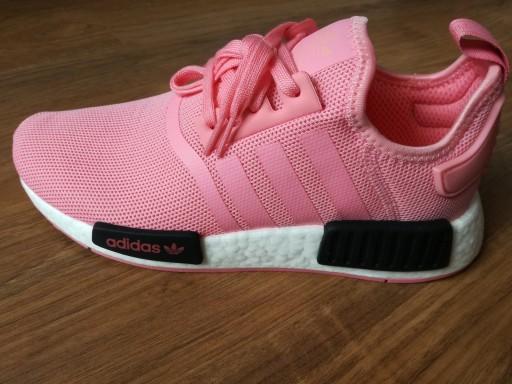 Adidas NMD R1 Sneakersy B42086 różowe BOOST 38 23