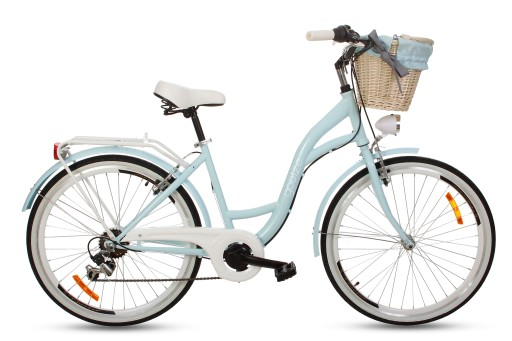 Damski rower miejski GOETZE 26 Mood 6b Shiman kosz