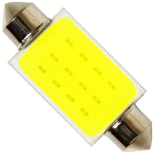RURKA LED C5W COB 24 CHIP żarówka H.POWER 42 mm