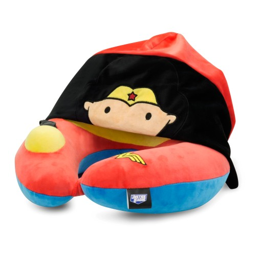 Wonder Woman poduszka podróżna z kapturem - Ridaz