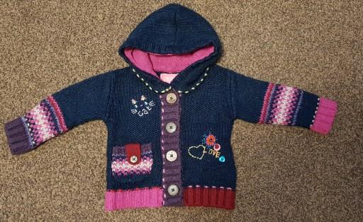 Sweterek Next śliczny j.nowy 68 6-9 MIESIĘCY ZARA