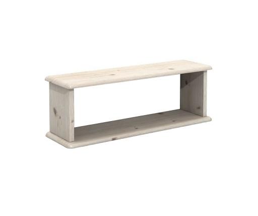 Dsi Meble Półka Drewniana 85 Cm Biała