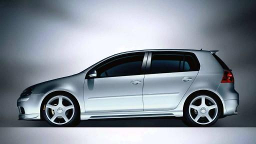 Vw Golf Mk5 Abt 3 5 Drzwi Nakladki Progowe Lodz Allegro Pl
