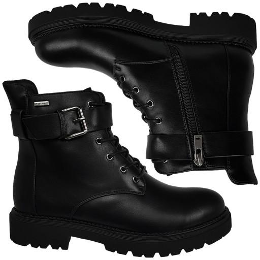 Botki CROSS Jeans damskie czarne buty EE2R4086 37