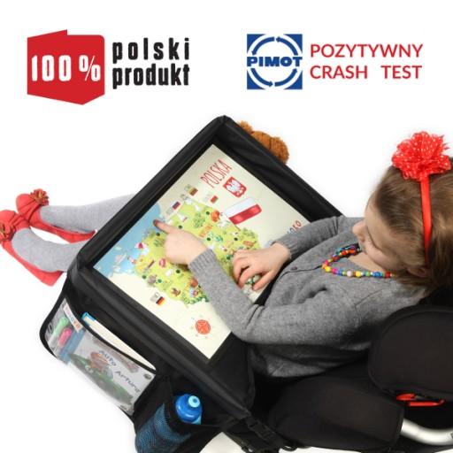 TULOKO - Stolik do samochodu - CRASH TEST ! ! !