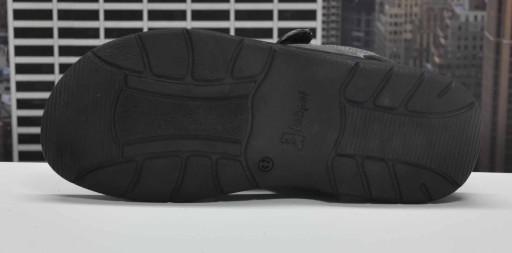 ŁUKPOL 812 grafitowe sandały MĘSKIE R.40 8288578039 Obuwie Męskie Męskie JM YIWFJM-6