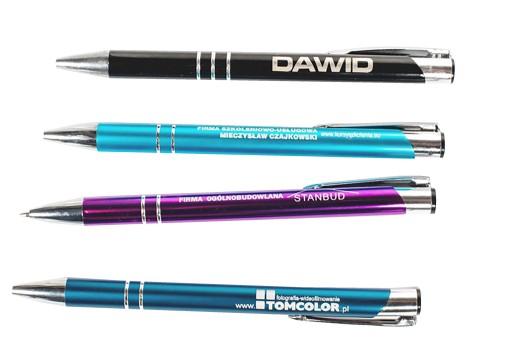 Personalizowany 2-strony Długopis Grawer OD 1 SZT 7612278680 - Allegro.pl
