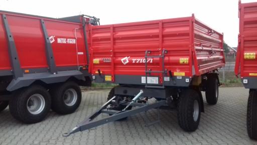 Przyczepa Rolnicza Firmy Metal Fach T710 1 6 Ton 8856684942 Allegro Pl