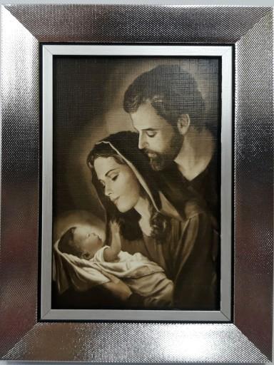 Obraz Na Sciane 16x21 Swietej Rodziny Jezus Sepia 7641371477