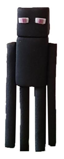Figurka 3d Minecraft Enderman Z Cukru Na Tort 8406499048 Allegro Pl