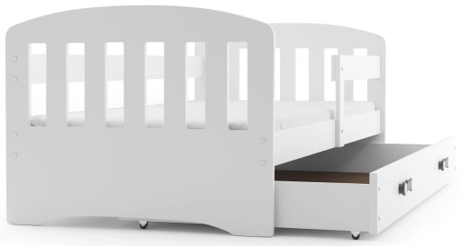 łóżko Happy Dziecięce 160x80 Materac Szuflada