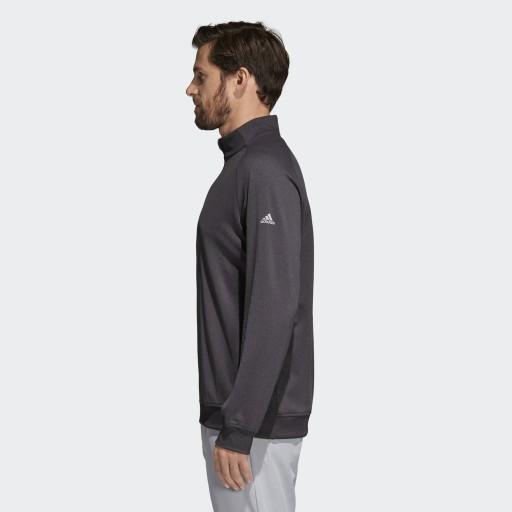 ADIDAS bluza sweter grafitowa męska zamek L 9980433128 Bluzy Męskie Bluzy IA CTVVIA-3