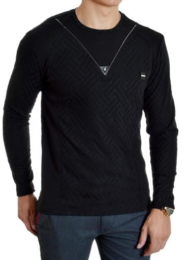 Bluzka Męska Sweter Longsleeve Mondo Exlcusive 9687244743 Odzież Męska Swetry XO JIXDXO-7