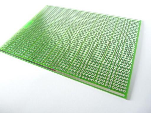 Płytka uniwersalna U-016 124,5x94 [mm] wiercona