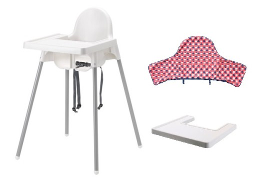 IKEA ANTILOP Krzesełko do karmienia +TACA+WKŁAD #2