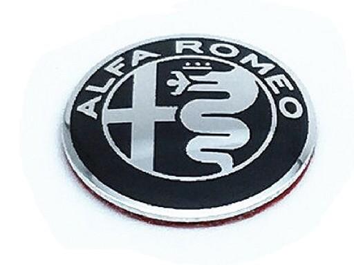 f0640da44dbea4 EMBLEMAT ZNACZEK LOGO ALFA ROMEO NA KLUCZYK 11mm 7297949086 - Allegro.pl