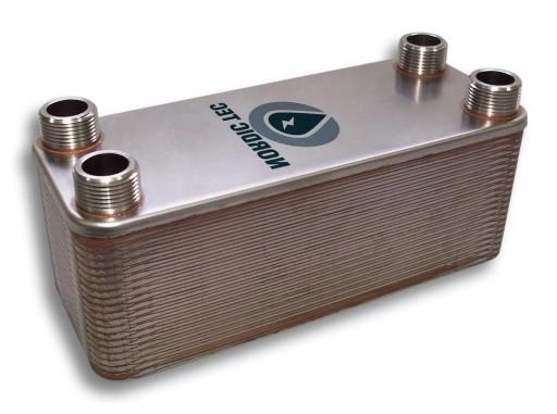 Wymiennik ciepła NORDIC 300kW 50-płytowy 2'' (50)