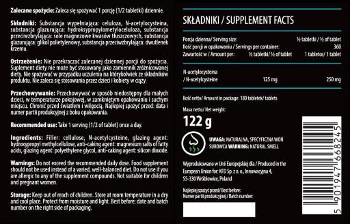 Kfd Nac 180 Tabletek N Acetylocysteina 8402359861 Allegro Pl