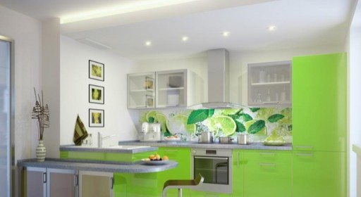 Panel Dekoracyjny Mdf Do Kuchni Limonka Fm 049