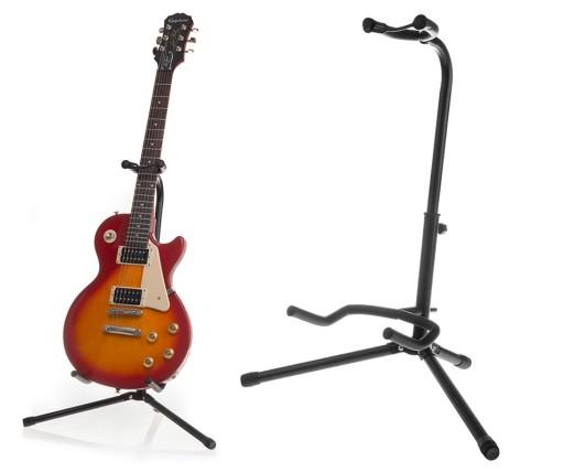 STATYW STOJAK na gitarę regulowany wysoki 60-75cm