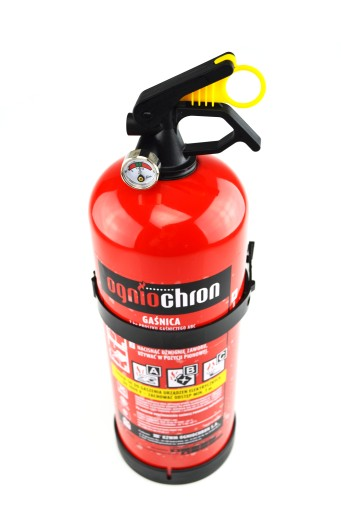 FIRE EXTINGUISHER POWDER ABC 2 kg + HOOK