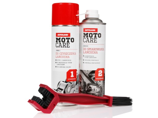A SET do CIRCUIT MOTO CARE 2x500ml + BRUSH