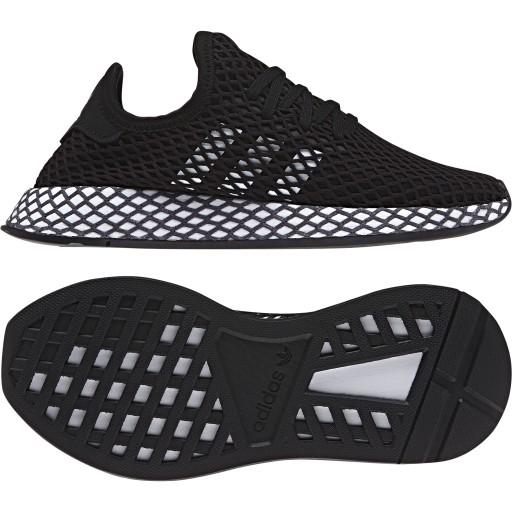 Buty dziecięce lekkie ADIDAS EG1584 | Czarny