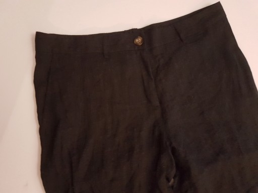 NEW HOUSE SPODNIE 100% LEN MĘSKIE R.L/42/44 LNIANE 10772792229 Odzież Męska Spodnie LD NEBYLD-7
