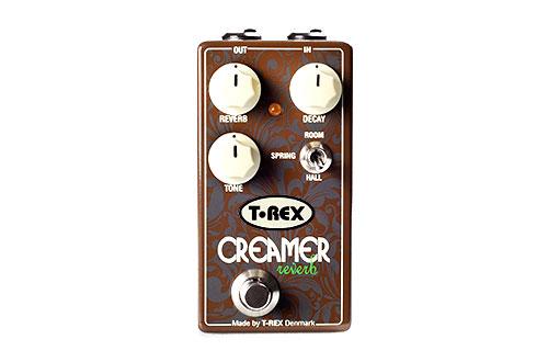 Efekt gitarowy podłogowy typu reverb T-Rex CREAMER