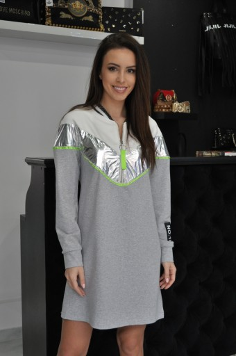Sale Imperial Sukienka Dresowa Wiosna 7877702093 Allegro Pl