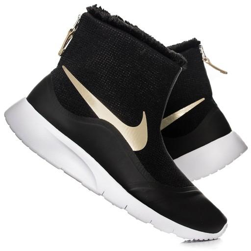 ca1f88c7e Buty damskie, zimowe Nike Tanjun Hi 922869-008 7934278426 - Allegro.pl