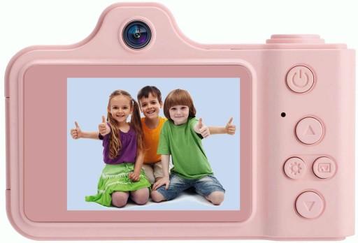 Kamera Aparat Cyfrowy Dla Dzieci Naklejki Smycz 7728862679 Sklep Internetowy Agd Rtv Telefony Laptopy Allegro Pl