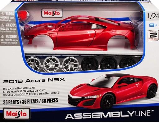Acura Nsx 2018 Model 1 24 Do Skladania Maisto 8467946492 Allegro Pl