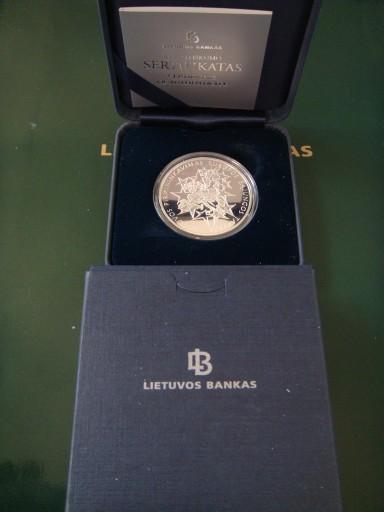 Litwa- 50 lituAg925 Przewodnictwo w Radzie UE 2013