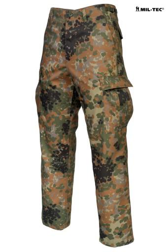 Wojskowe SPODNIE BDU RANGER Moro FLECKTARN - XXL 8994687883 Odzież Męska Spodnie GR JMCJGR-8