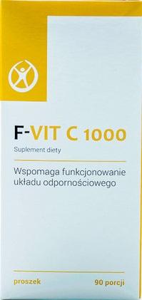F-VIT C 1000mg, WITAMINA C lewoskrętna, 90 porcji