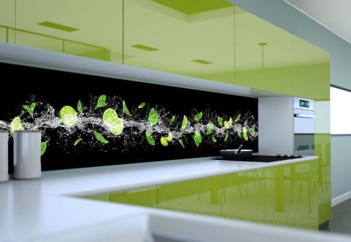 Fototapeta Do Kuchni Owoce W Wodzie 150x60 Cm
