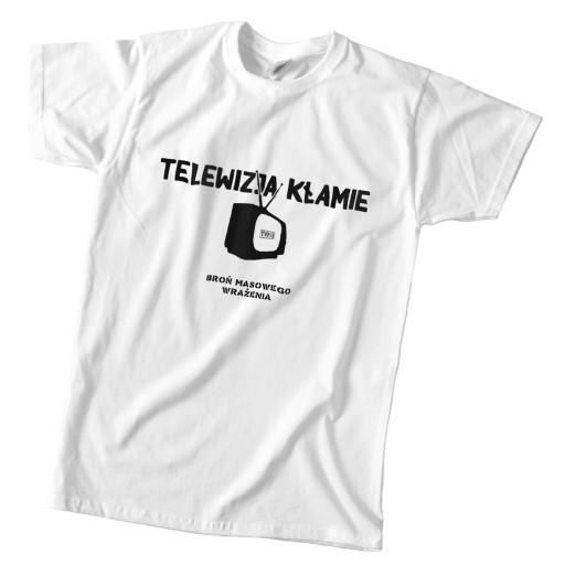 koszulka Telewizja Kłamie anty tvp TVPIS pis