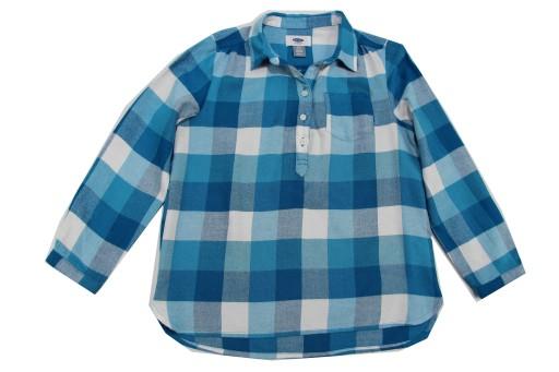 Koszula w kratę OLD NAVY r 116/122 (L4411)