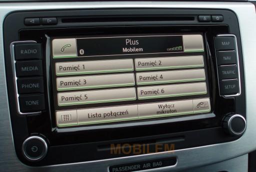 Zestaw głośnomówiący bluetooth VW RNS510 RCD510