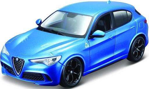 Alfa Romeo Stelvio Blue 1 24 Model Bburago 21086 8523527338 Allegro Pl
