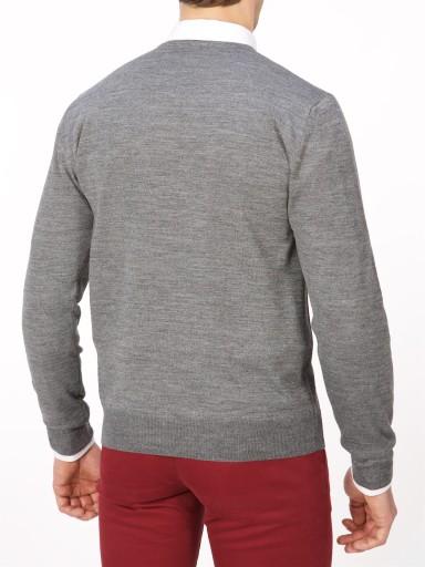LUX, Zara,Sweter 100% Extrafine WEŁNA, M 9910725602 Odzież Męska Swetry UL LDFNUL-4